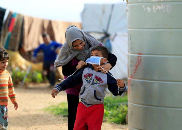 اللاجئون السوريون في لبنان في ظل جائحة كورونا