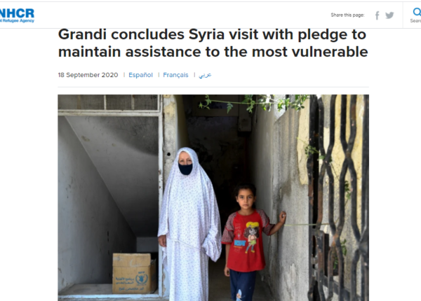 UNHCR's messaging on returns to Syria continues to mislead and endanger displaced Syrians