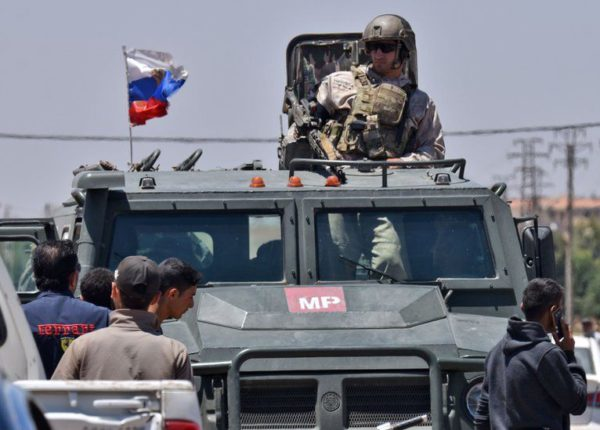 The Russian military negotiated the ceasefire with opposition commanders in Syria's Daraa (Photo: AFP)